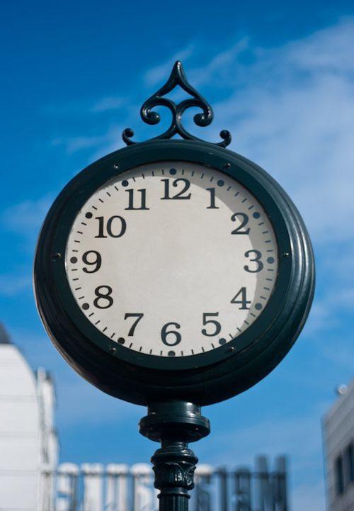 klok zonder wijzers